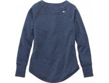 Riverrock Henley Women's Long Sleeve T-Shirt w/ 4 Button Placket