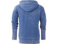 Ridgemont Women's Burnout Fleece Full Zip Hoody (Imprinted)