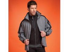 Blyton Men's Jacket w/ Roll Away Hood