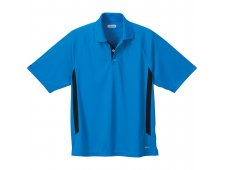 Mitica Men's Short Sleeve Polo Shirt w/ Contrast Side Panel