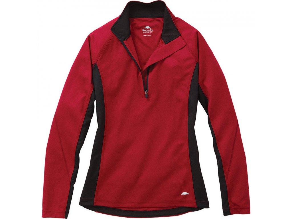 Birchlake Tech Women's Long Sleeve Shirt w/ Half Zip