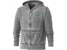 Ridgemont Burnout Fleece Full Zip Hoody (Imprinted)