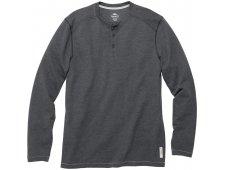 Riverrock Henley Men's Long Sleeve T-Shirt w/ 3 Button Placket